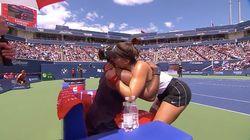Serena Williams abandonne une finale en larmes, son adversaire vient la