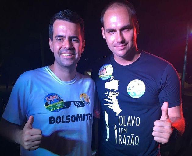 Dr. Vinicius Rodrigues é entusiasta da família Bolsonaro e 1º suplente do PSL de São