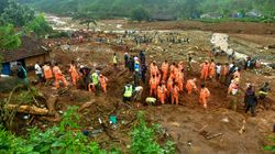 India's Flood Death Toll Hits 147, Landslide In Kerala Buries Houses In 10-12 Feet Of