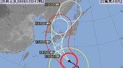 台風10号の影響で花火大会が中止・延期に 台風の進路は?