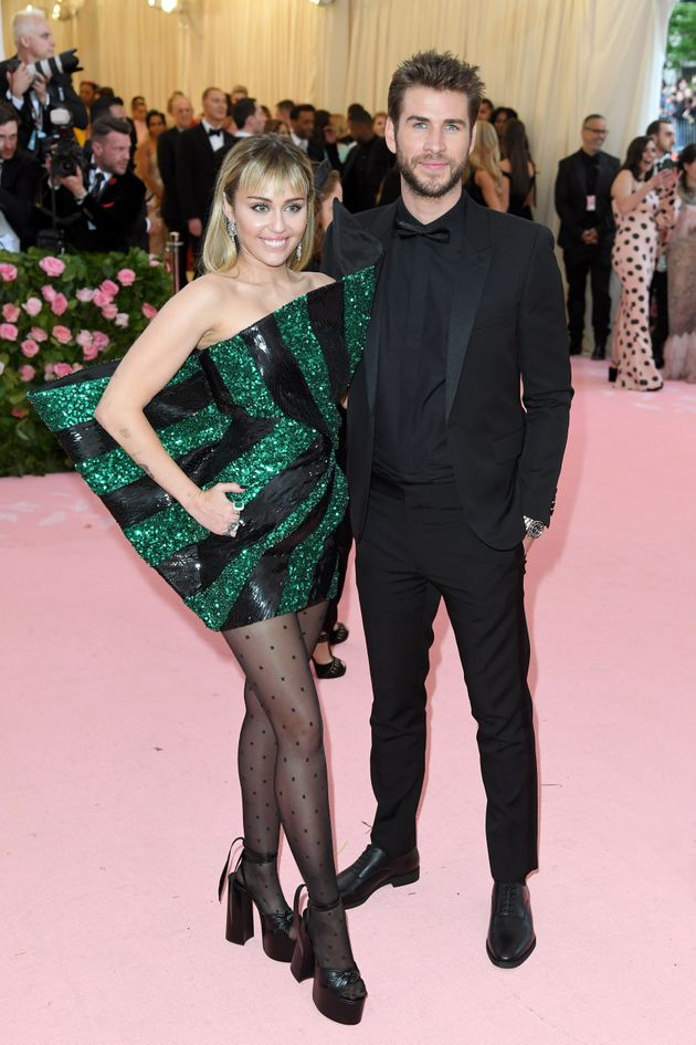 Miley and Liam at the Met Gala in