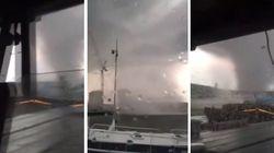 Lussemburgo travolto dal maltempo. Il violento tornado raggiunge i 130 km/h