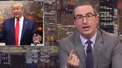 John Oliver Rips Trump's El Paso Visit: 'Bare Minimum Of Being A F**king