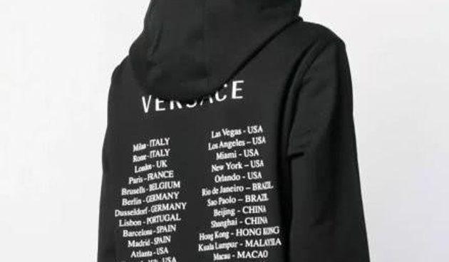 Cette collection a mis la Chine en colère, Versace