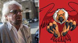 Beppe Grillo contro l'avvoltoio