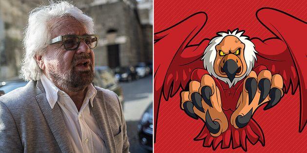 Beppe Grillo e Di Maio contro l'avvoltoio