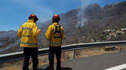 El incendio de Gran Canaria continúa, tras quemar 1.500