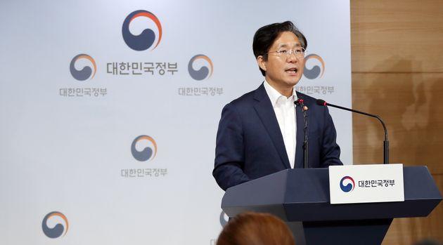 ソン・ユンモ産業通商資源相(2019年7月)