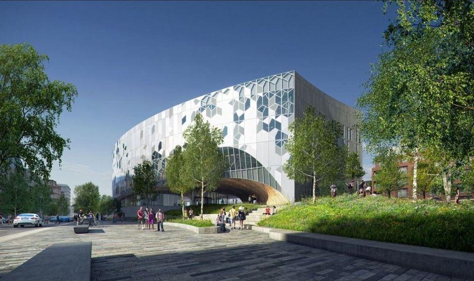 Νέα κεντρική βιβλιοθήκη...