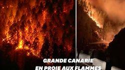 En Espagne, Grande Canarie frappée par un incendie hors de