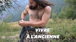 Il imite l'homme de Néandertal pour apprendre à survivre en pleine