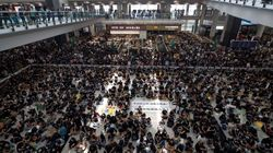 All Flights Cancelled Out Of Hong Kong Airport Due To Mass