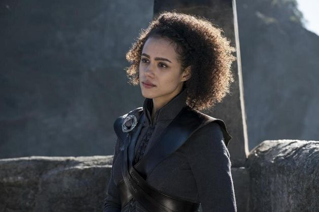 Nathalie Emmanuel played Missandei on Game Of