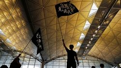 Hong Kong Airport Cancels Flights As Thousands Of Protesters Crowd