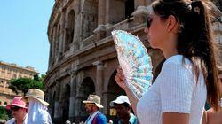 Super ondata di calore sull'Italia. Punte di 50 gradi al suolo in alcune