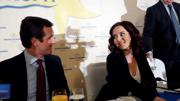 El PP cree que Díaz Ayuso ha dado