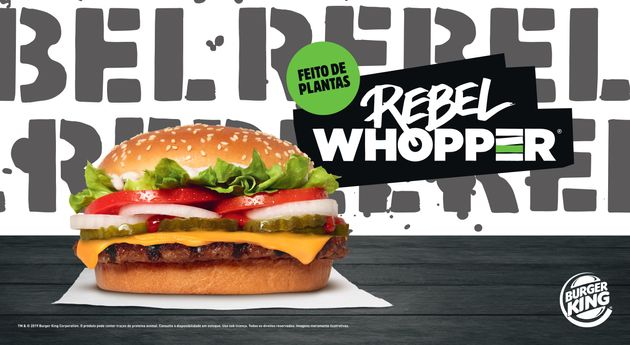 Rebel Whopper: Burger King traz ao Brasil seu famoso burger vegetal que 'imita'