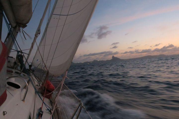 L'arrivée de cette traversée de l'Atlantique