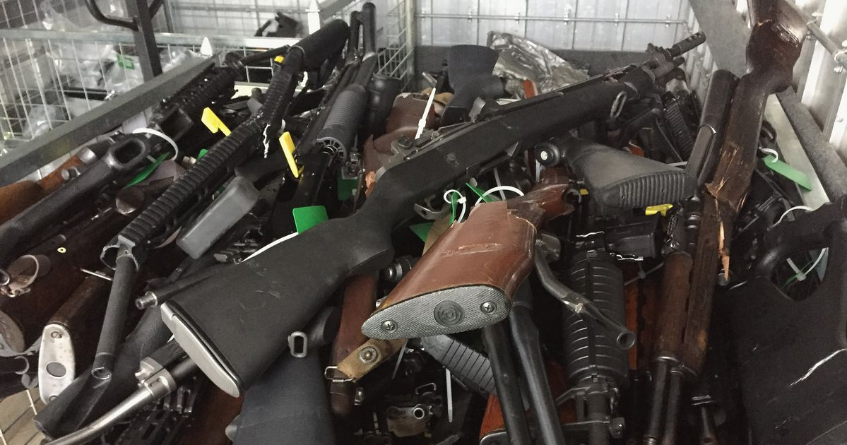 New Zealand Gun Owners Surrender Over 10,000 Firearms After
