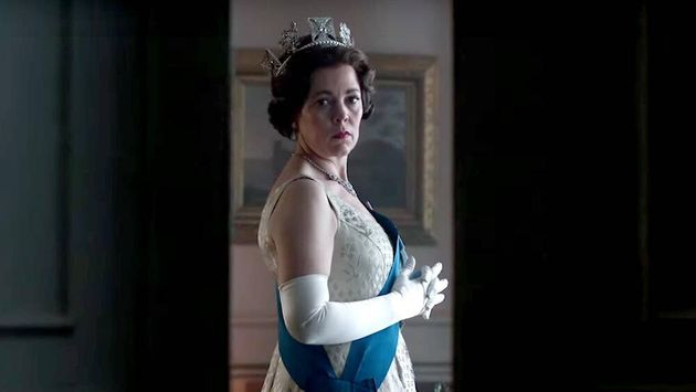 Olivia Colman is playing Queen Elizabeth II in The Crown series