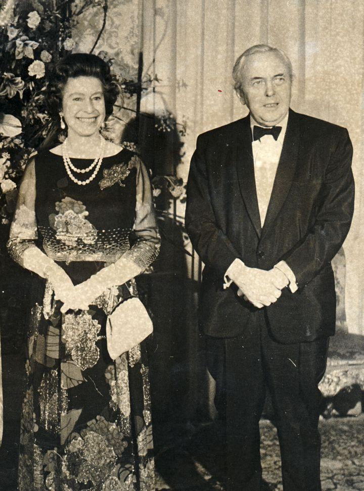 The Queen and Harold Wilson in 1976