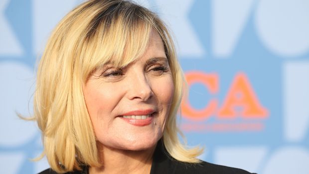 English-Canadian actress Kim Cattrall attends the FOX Summer TCA 2019 All-Star Party at Fox Studios on August 7, 2019 in Los Angeles. (Photo by Michael Tran / AFP)        (Photo credit should read MICHAEL TRAN/AFP/Getty Images)
