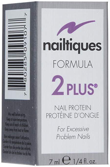 """<strong><a href=""""https://amzn.to/2YWh2l3"""">Nailtiques Formula 2 Plus</a></strong> is for """"excessive, problem nails."""""""