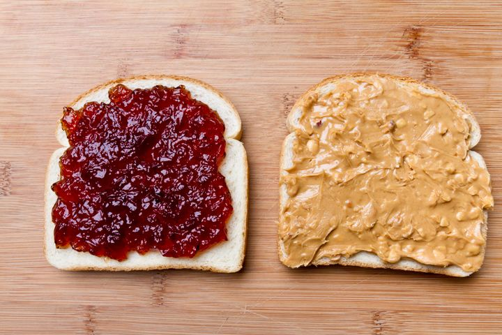 The nutritionists were split on PB&J (one ranked it near the top of their list and another ranked it at the bottom).