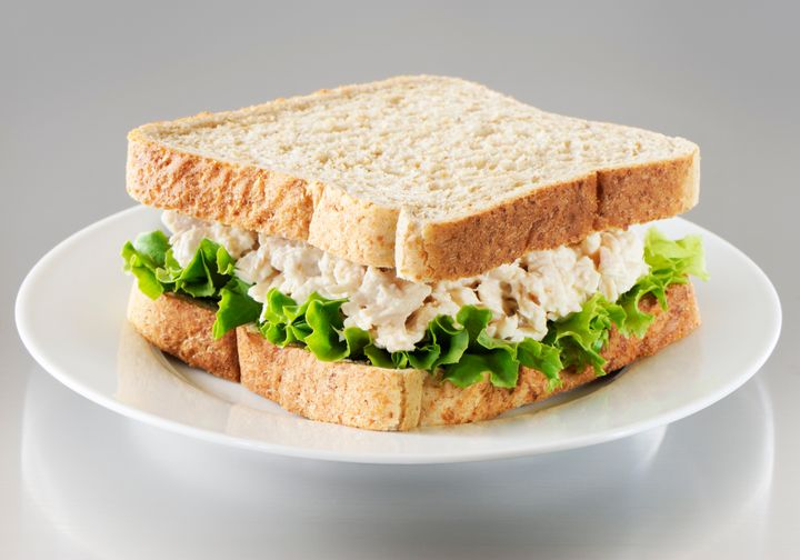 When making tuna salad, keep in mind that the serving size for mayo is just one tablespoon. Many people go overboard.