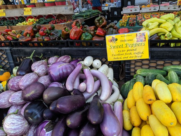 The Union Square Greenmarket is one of 142 farmers markets citywide, all of which accept Health Bucks....