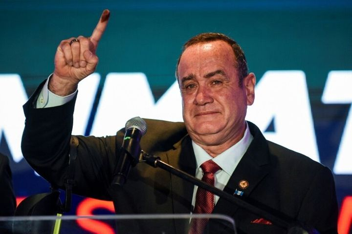Alejandro Giammattei won Guatemala's presidential election on Sunday, raising fresh concerns about the Central American country's democracy.
