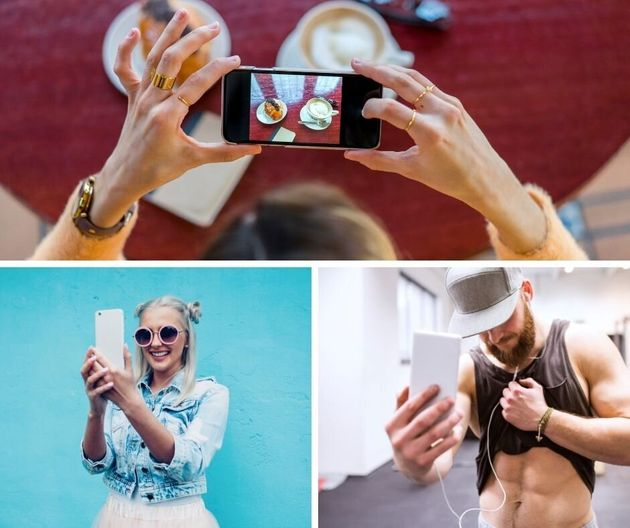 Nonstop food photos, colorful wall and gym selfies -- just some of the more cliché photos that...