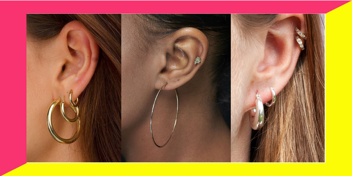 There are lots of hoop earrings on Etsy under $50.