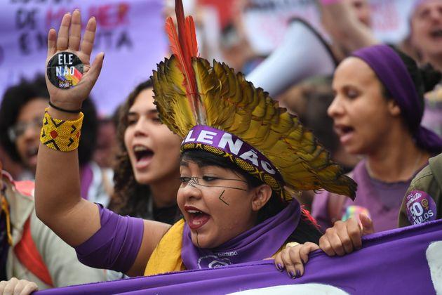Célia Xakriabá, da Apib (Articulação dos Povos Indígenas) se juntou...