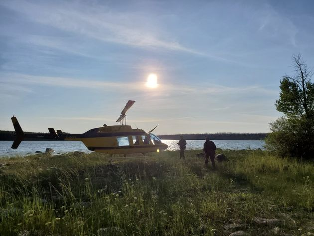 RCMP searched the area of Gillam, Manitoba for before finding Bryer Schmegelsky and Kam McLeod on Aug....