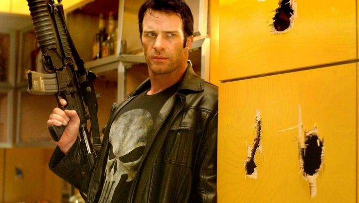 Thomas Jane as The Punisher.