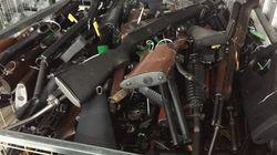 뉴질랜드 테러 이후 지금까지 1만정 넘는 총기가