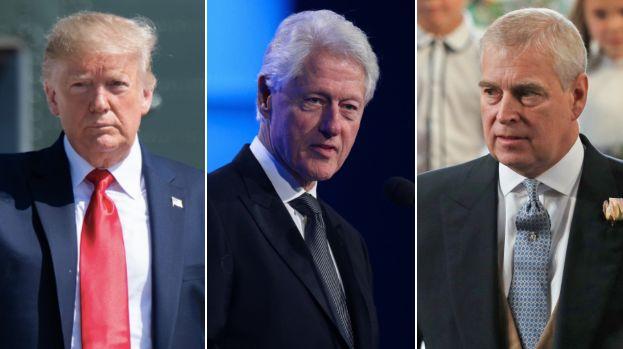 Donald Trump, Bill Clinton et le Prince Andrew sont cités dans l'enquête sur l'affaire Jeffrey