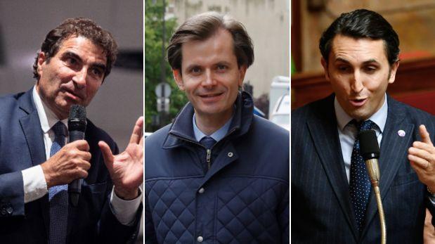 Christian Jacob, Guillaume Larrivé et Julien Aubert sont candidats à la présidence...