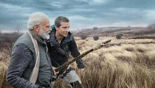 The Funniest Memes From Modi's 'Man vs Wild' Episode With Bear