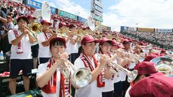 甲子園で京アニ「響け!ユーフォニアム」の主題歌を演奏。立命館宇治の吹奏楽部に賞賛の声集まる