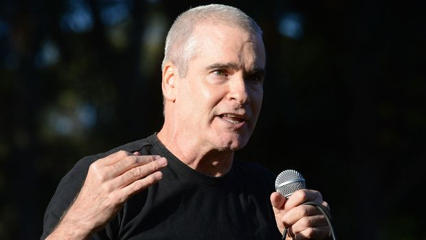 SAN FRANCISCO, CA - OCTOBER 07:  Musician Henry Rollins of Black Flag and The Rollins Band performs onstage during the Hardly Strictly Bluegrass music festival at Golden Gate Park on October 7, 2017 in San Francisco, California.  (Photo by Scott Dudelson/Getty Images)