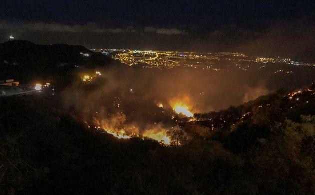 Estabilizado el segundo incendio de Gran Canaria, en la zona de
