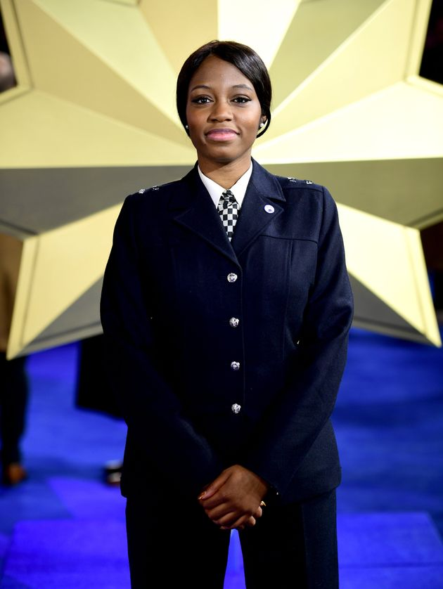 PC Khafi Kareem is one of the stars of the African reality TV show Big Brother