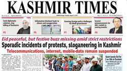 Press IDs Effectively Disabled, Severe Restrictions On Paper: Kashmir Times Editor To