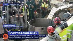 Polémica por el cese del jefe de bomberos encargado del rescate de Julen:
