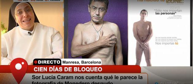 Sor Lucía, sobre la foto más comentada de un político: