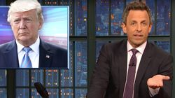 Seth Meyers Dissects Trump's Long History Of Spreading Conspiracy