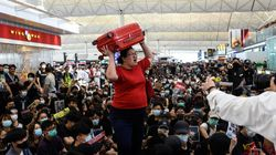 Hong Kong Flights Canceled Again As Protesters Take Over Airport