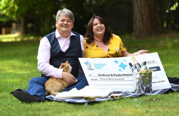 Ginger Cat Named Shortcake Credited For Couples £1m Lottery Win